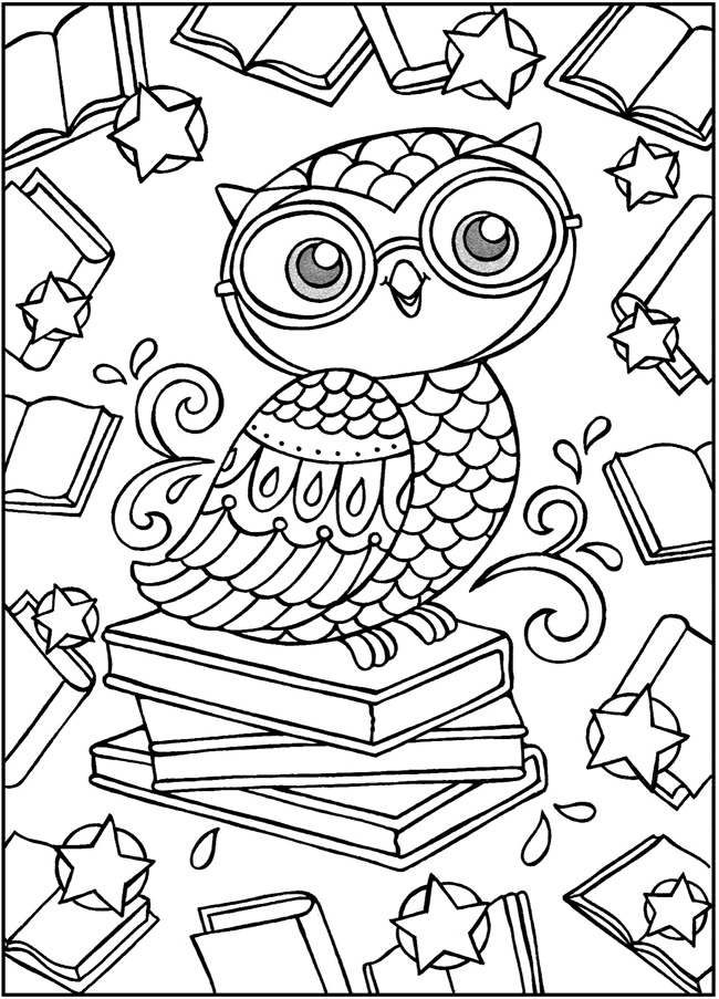 fun printable coloring pages for adults | Welcome to Dover Publications