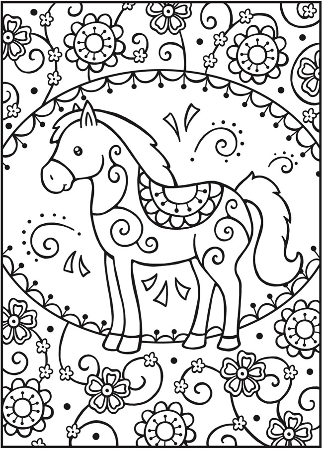 calming coloring pages for children - photo#30