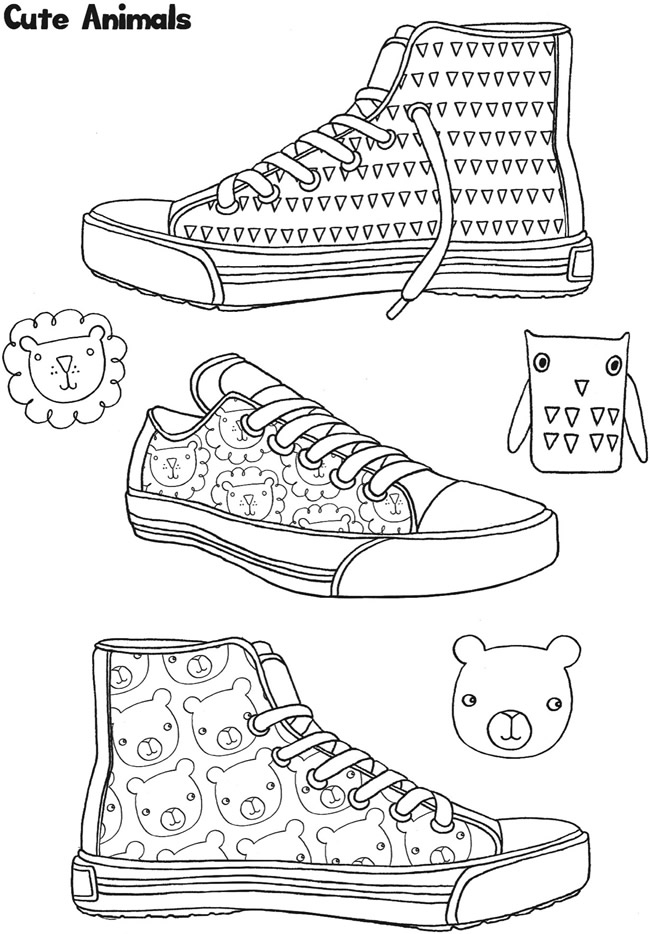 tap shoes coloring pages coloring pages